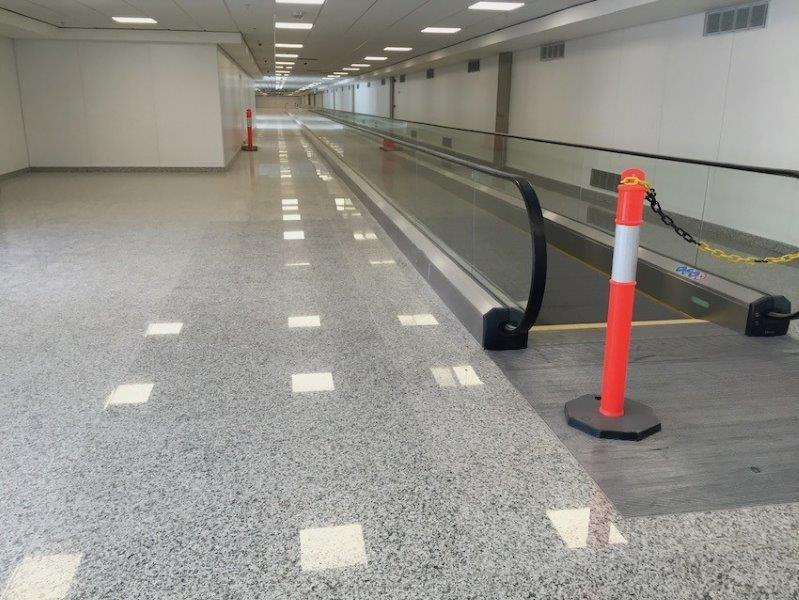 Polimento de concreto seco